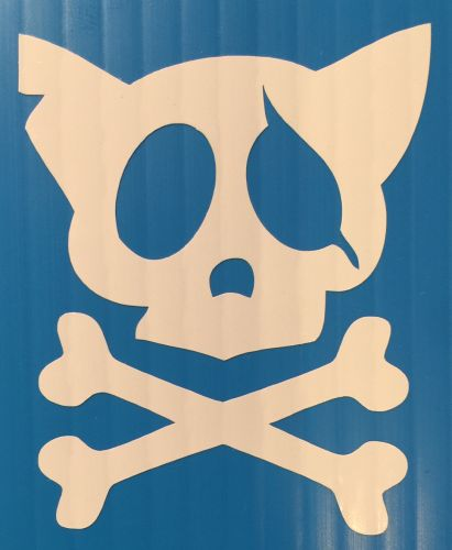 Cat - Skull and Cross Bones