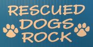 Rescued Dogs Rock